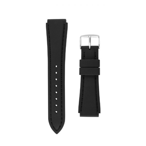 Womens Black Silicone