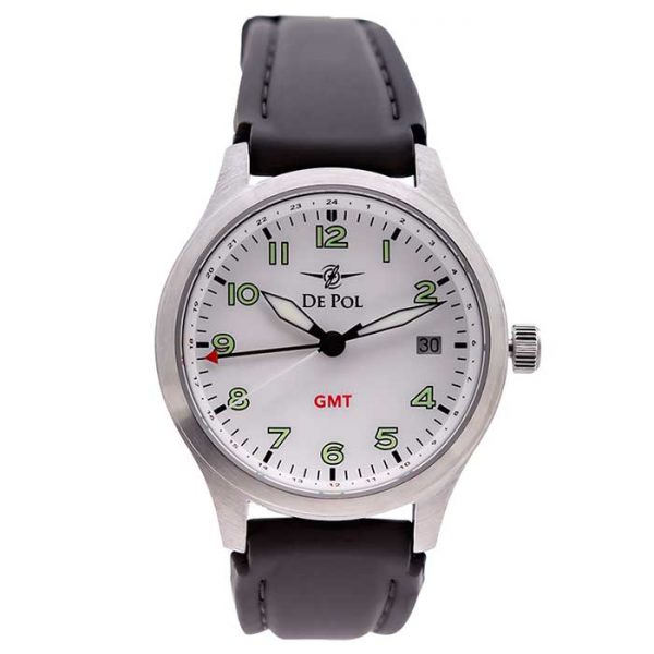 Women - Stainless Steel GMT (White)