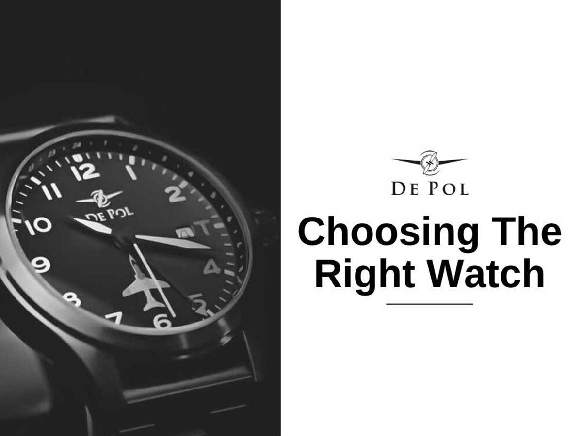 Choosing the right watch