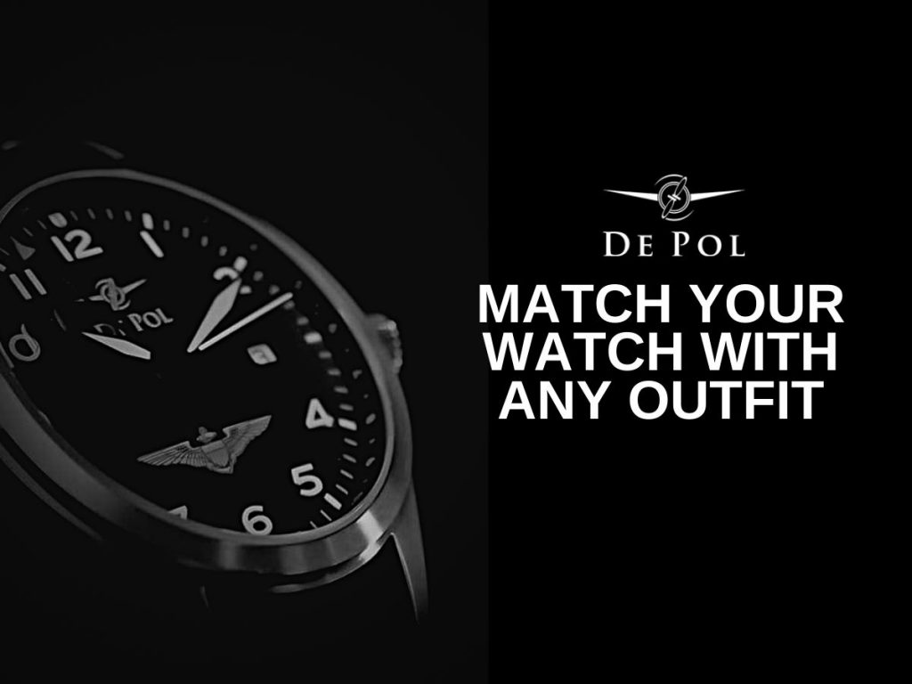 match your watch with any outfit
